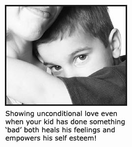 quotes-on-discipline-mom-hugging-her-little-boy